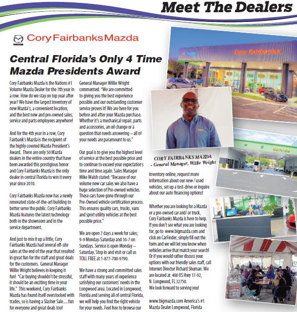 Florida Mazda Dealers >> Cory Fairbanks Mazda Cfairbanksmazda On Pinterest