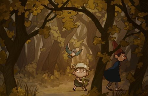Everything over the garden wall more fanart pim and - Over the garden wall song lyrics ...