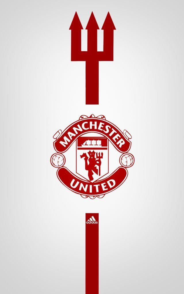 Manchester United Adidas Wallpaper Sepak Bola Seni Wallpaper Ponsel