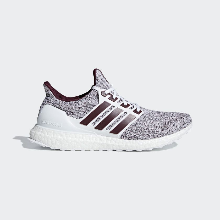 d7f8979c815 Ultraboost Shoes Cloud White   Maroon   Maroon EE3705