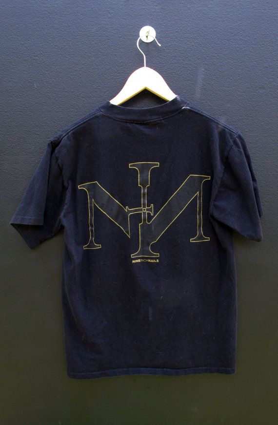Nine Inch Nails Sin vintage Tshirt by NothingVintage on Etsy ...