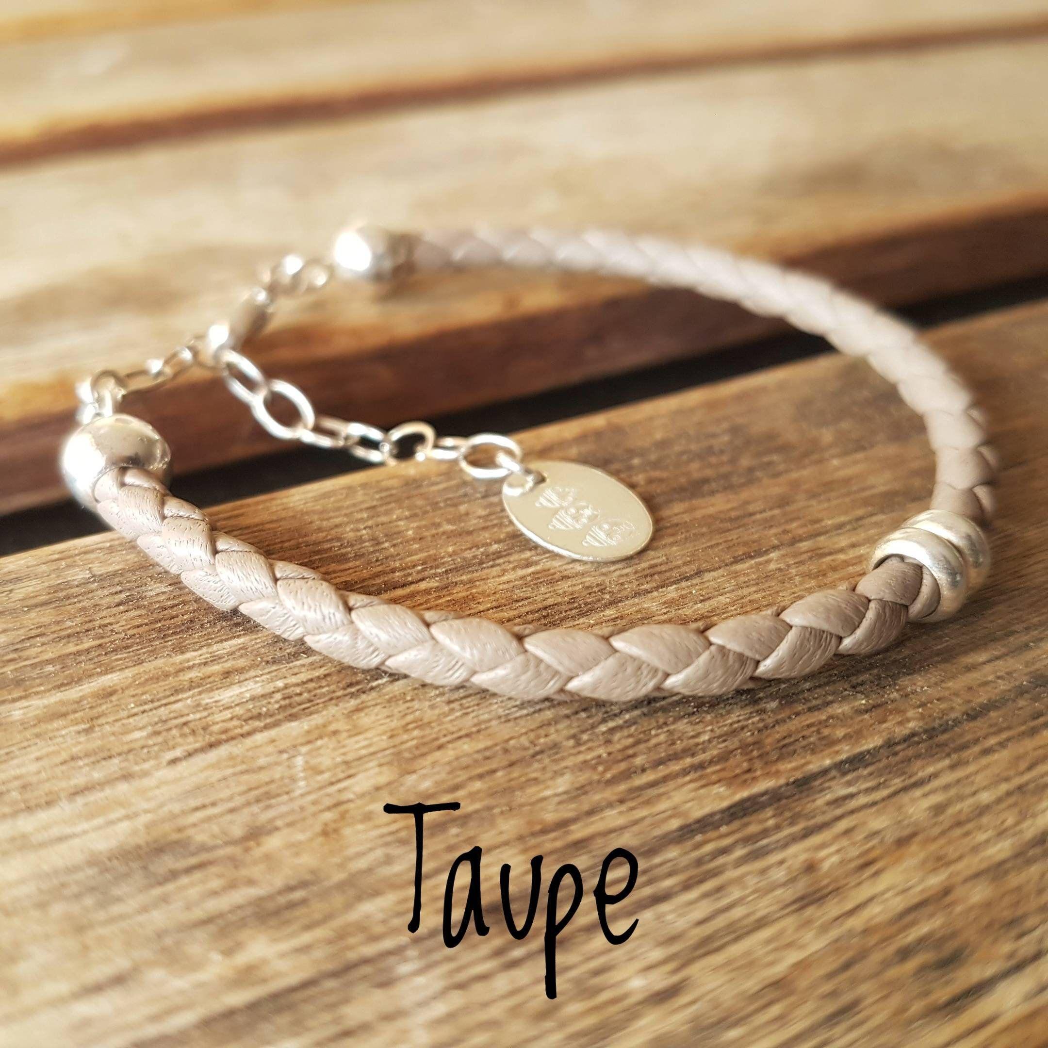 femme bracelet cuir