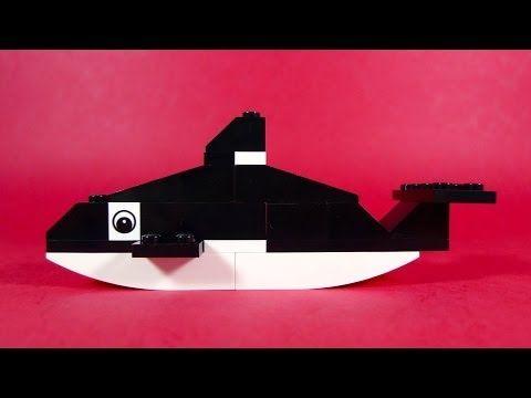 How To Build Lego Killer Whale 4630 Lego Build Play Box