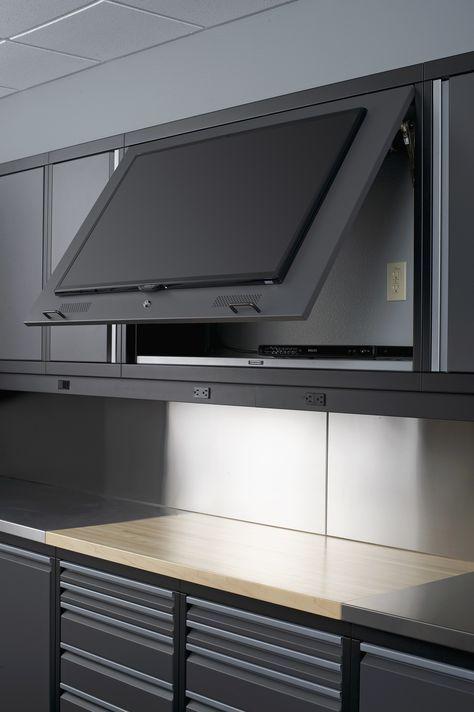 Top 5 Simple Wood Garage Cabinets Ideas You'll Love #garageideasstorage