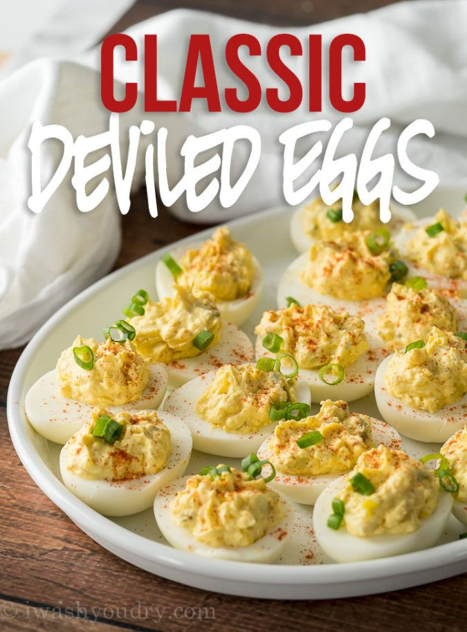 Best Classic Deviled Eggs Recipe