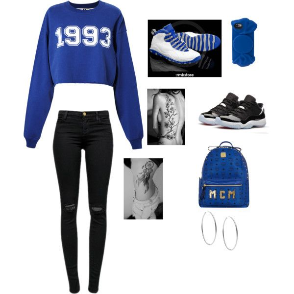 1993 by nichole-erin on Polyvore featuring polyvore fashion style MSGM J Brand MCM Michael Kors