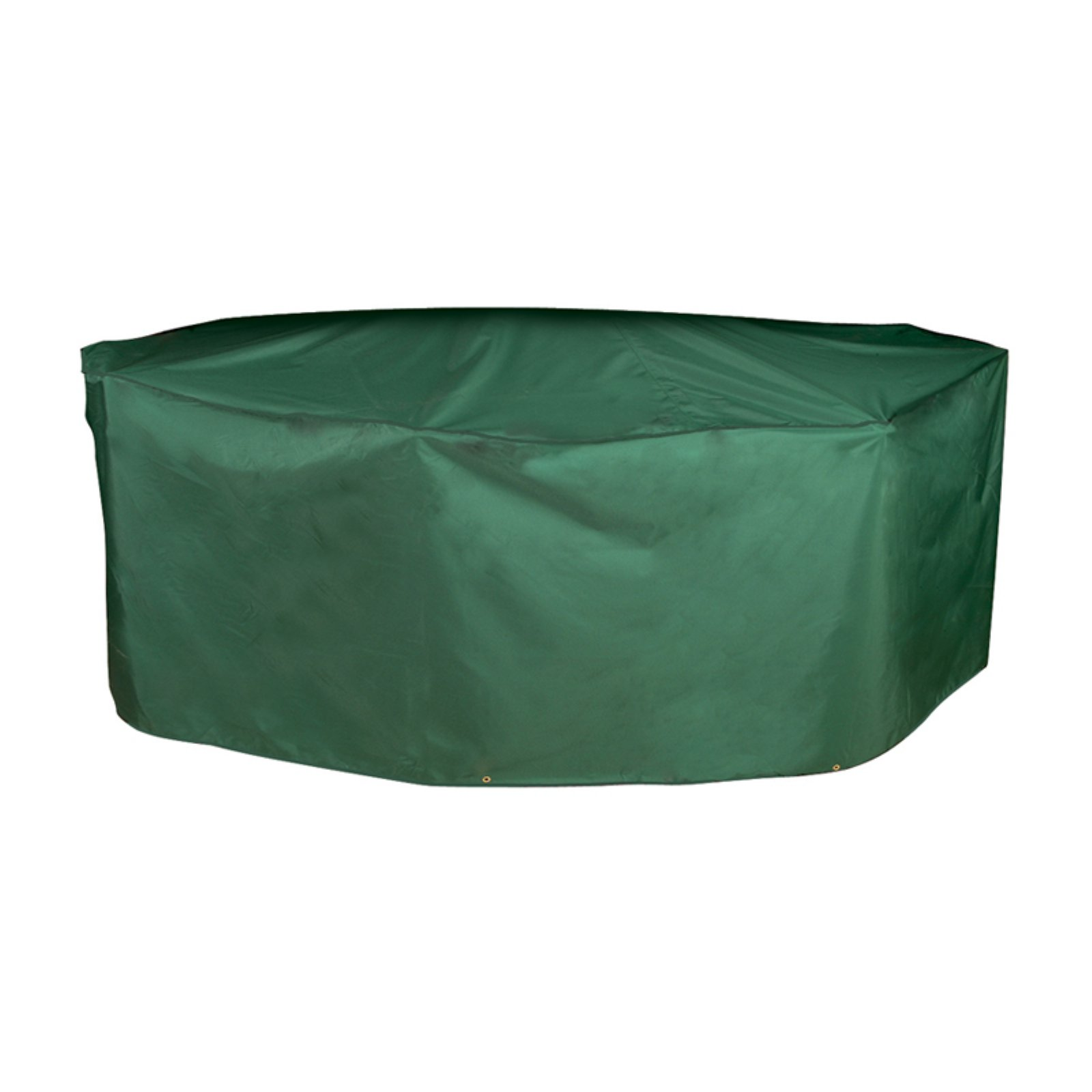 Bosmere C537 Oval Rectangular Table And Chairs Cover 126 X 75 In Green