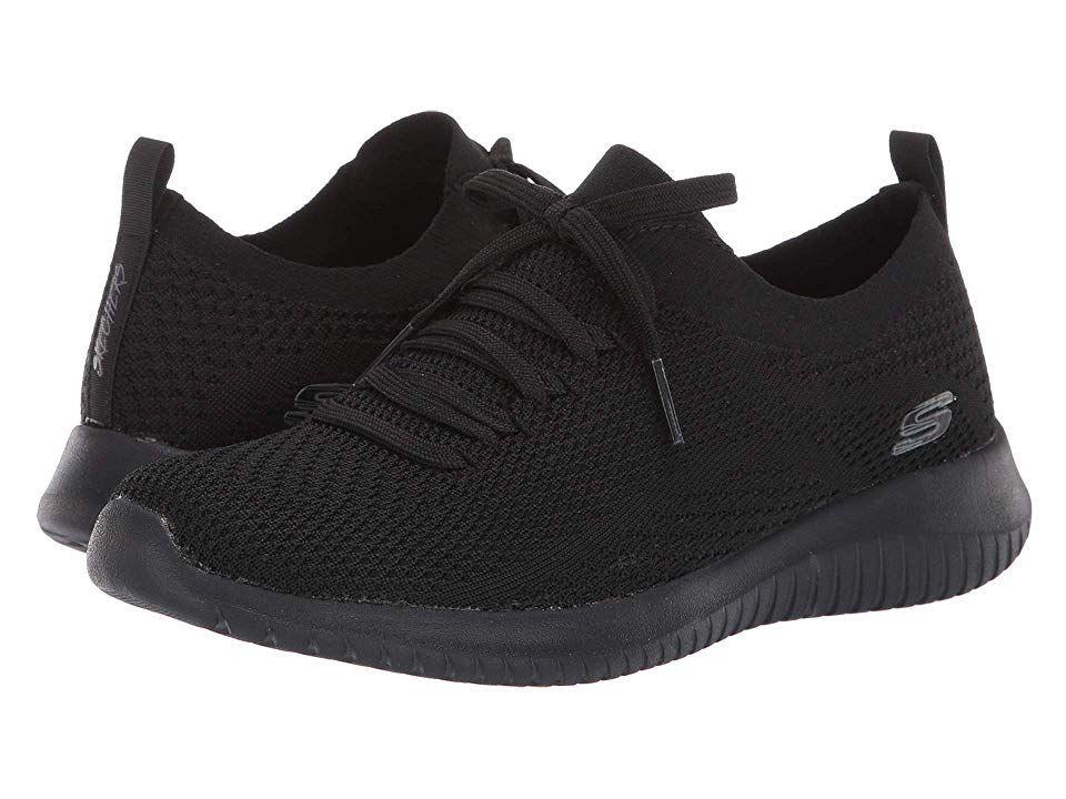 SKECHERS Ultra Flex Statements Women's Shoes Black | Black