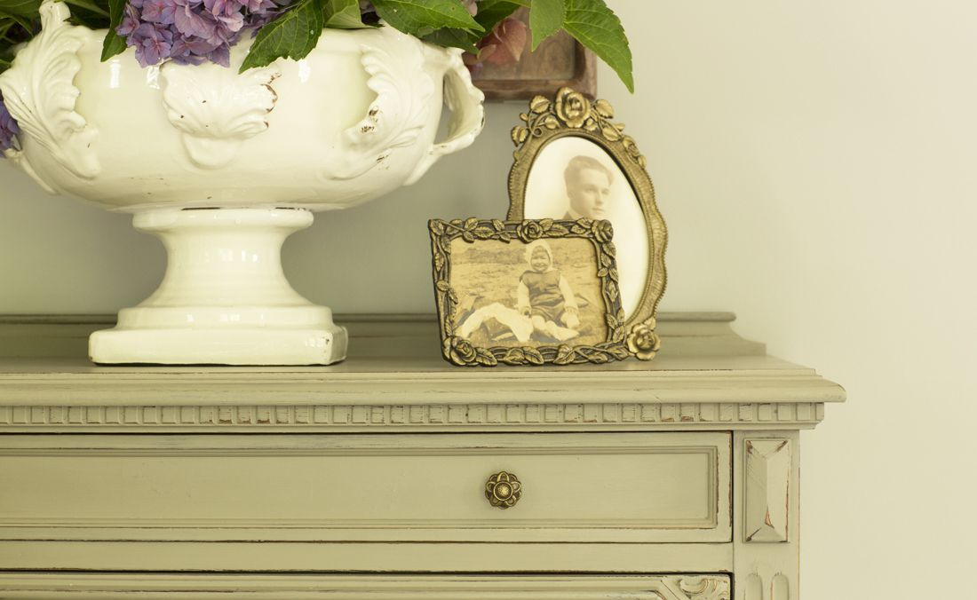 Hartley and Hill Living Room makeover antique memory