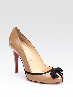 b35d31ea158 Christian Louboutin Lavalliere Bow Pumps -- for a cool  795 these could be  mine!