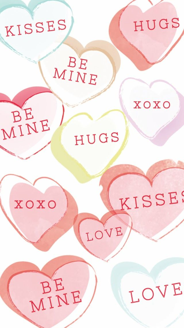 12 Super Cute Valentine\'s Day iPhone Wallpapers | Wallpaper, Phone ...