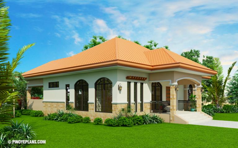 THREE BEDROOM BUNGALOW HOUSE DESIGN - Amazing Architecture ...
