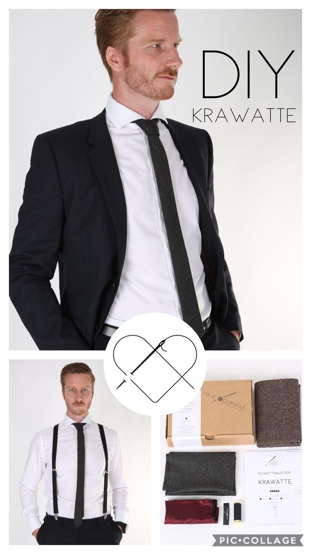 new styles 42fb3 e9a9d So lernst du wie du eine stylische schmale Krawatte selber ...