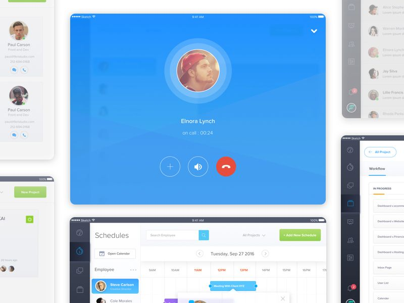 Scheduler - More screens by Bagus Fikri #Design Popular #Dribbble #shots