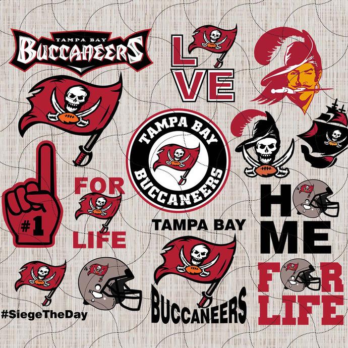 Tampa Bay Buccaneers Tampa Bay Bucs By Enchantedsvg On Zibbet In 2020 Tampa Bay Buccaneers Logo Nfl Logo Football Logo