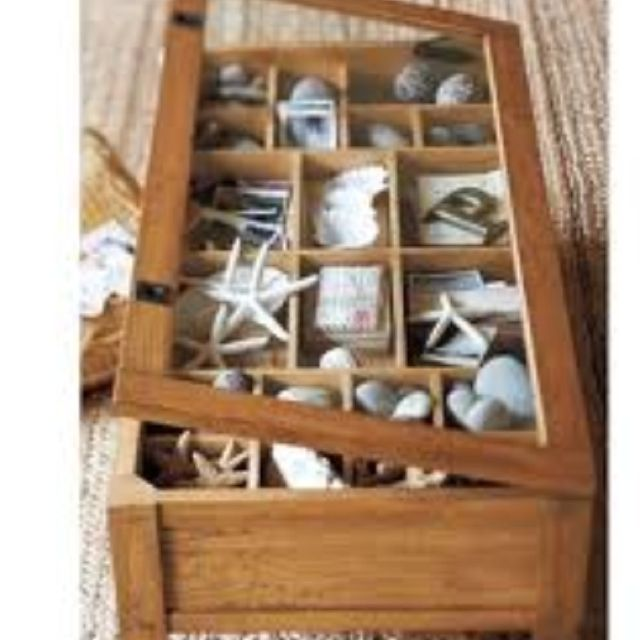 Pottery Barn favorite shadow box coffee table love it but no