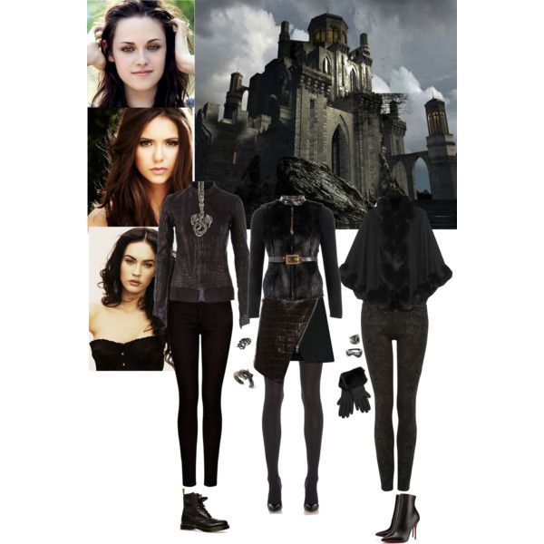 Durmstrang Girls Fashion Clothes Design Themed Outfits Durmstrang harrypotter potter harry potter hogwarts dark. pinterest