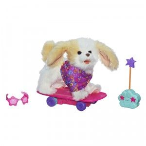 Furreal Friends Trixie The Skateboarding Pup From Hasbro With
