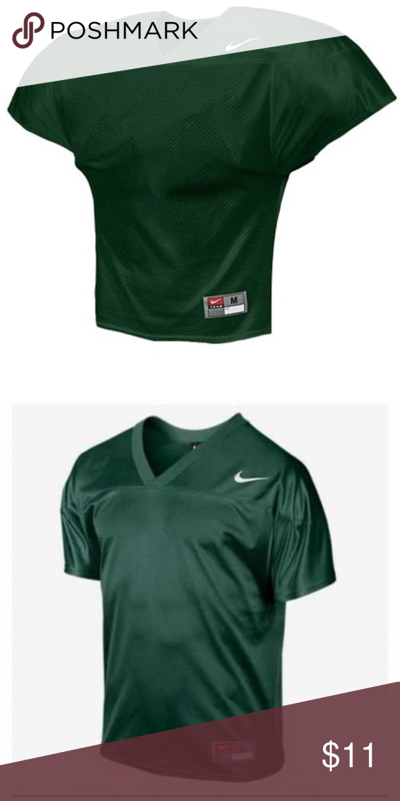 f380f9be8 Nike Men s Core Football Practice Jersey Breathable mesh construction with  an updated fit Comfortable open arm