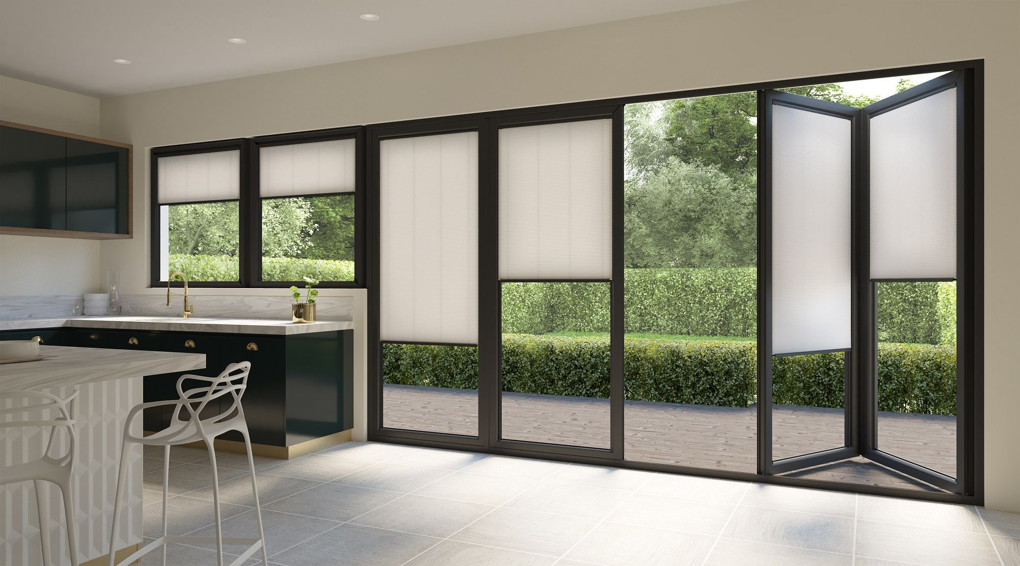 Style Studio Intu Hive Blinds Kitchen Blinds Neutral Blinds