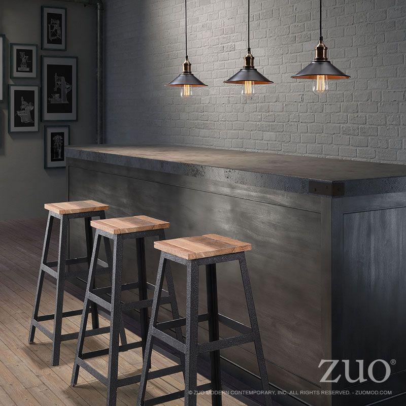 L mparas colgantes para barra l mparas mueble bar muebles y muebles industriales - Lampara de comedor colgante ...