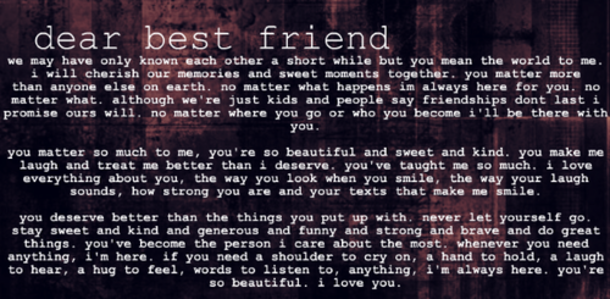 43 Best Friend Quotes For Girls | Friend quotes for girls ...