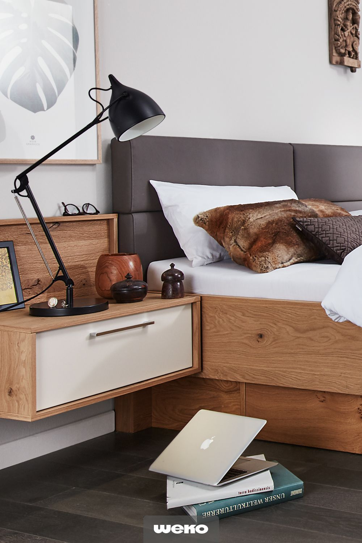 Die Interliving Schlafzimmer Serie 1002 verbindet glatte