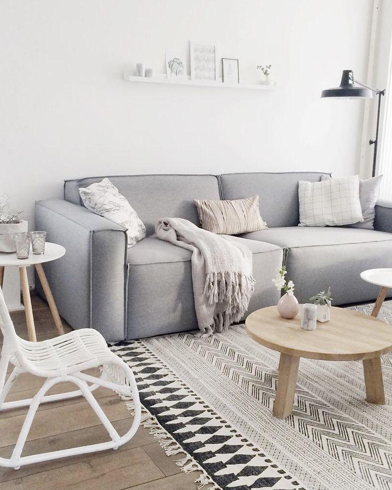 comment d u00e9corer votre salon avec le gris et le blanc