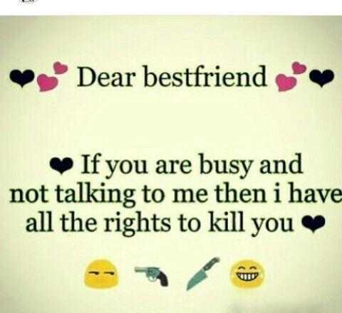 Hahahaha Exactly To All My Friends I Have The
