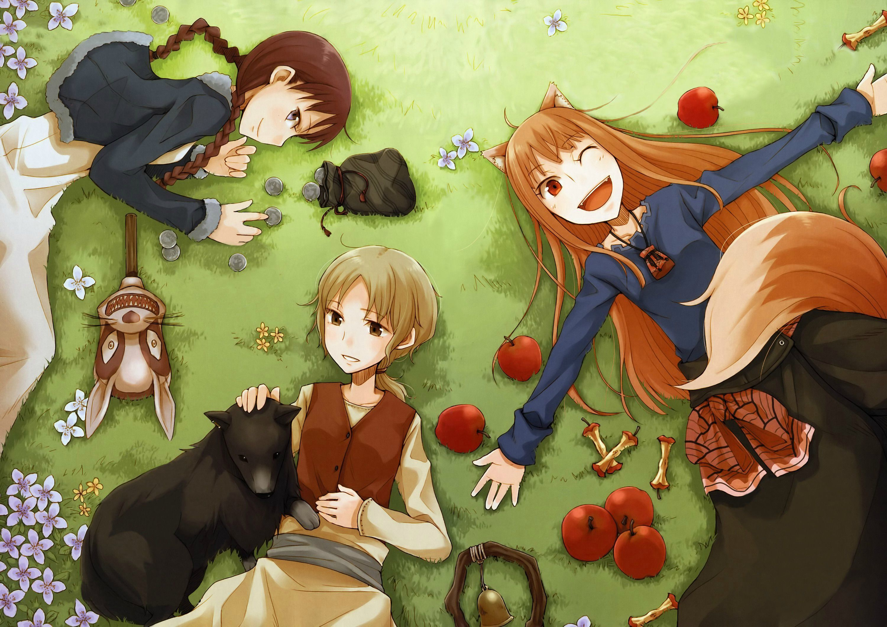 Pin By Douart On Spice And Wolf Spice And Wolf Wolf Character Wolf Wallpaper