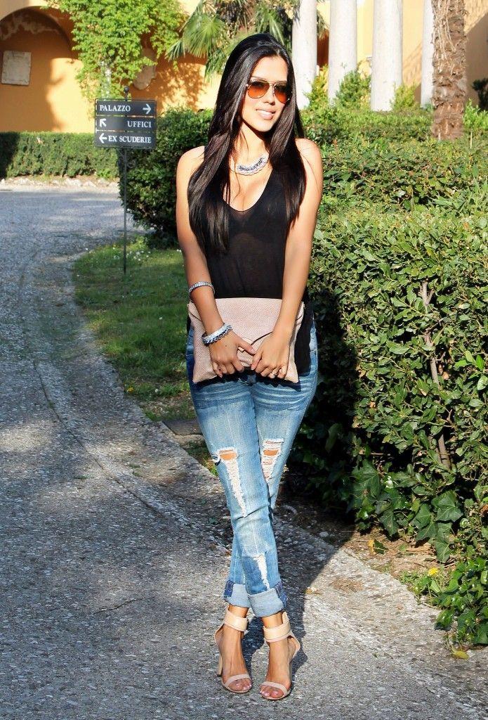 Como Vestir Bien Con Jeans Cecy