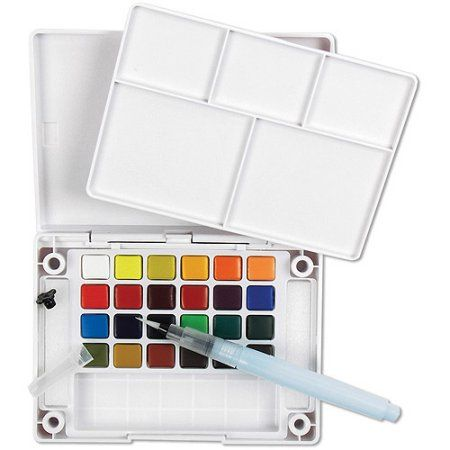 Arts Crafts Sewing In 2020 Sketch Box Sakura Koi Watercolor Koi
