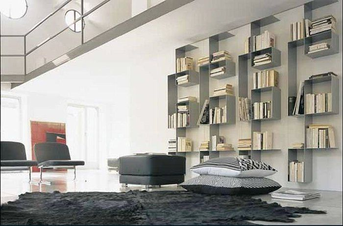 Tissetanta Furniture, Contemporary shelving