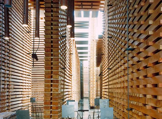 Peter Zumthor Swiss Pavilion, Hannover Expo, 2000