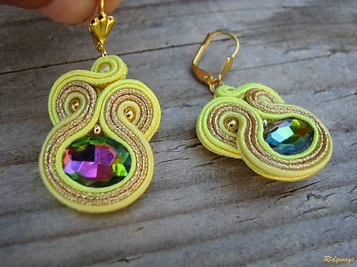 Ridgways / Lemon/Vitrail medium...soutache