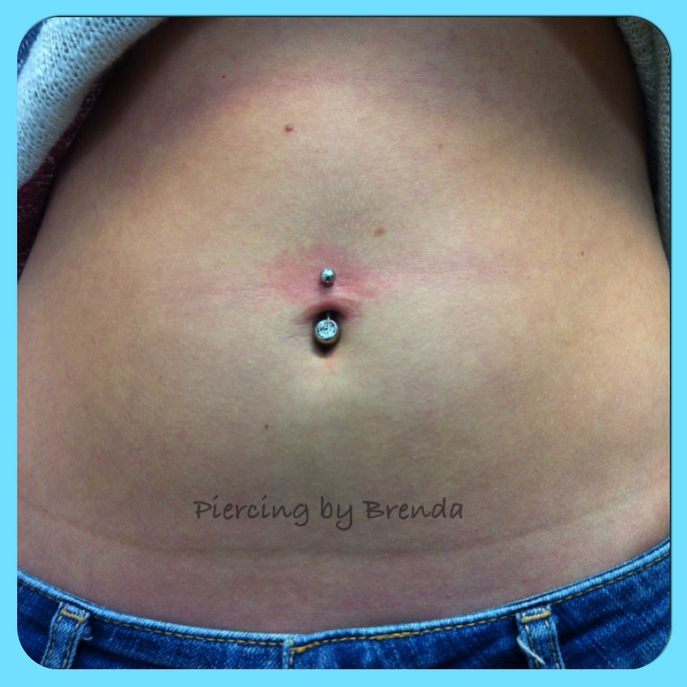 4 belly button piercing  Navel piercing  Piercings done by me  Pinterest  Navel piercing