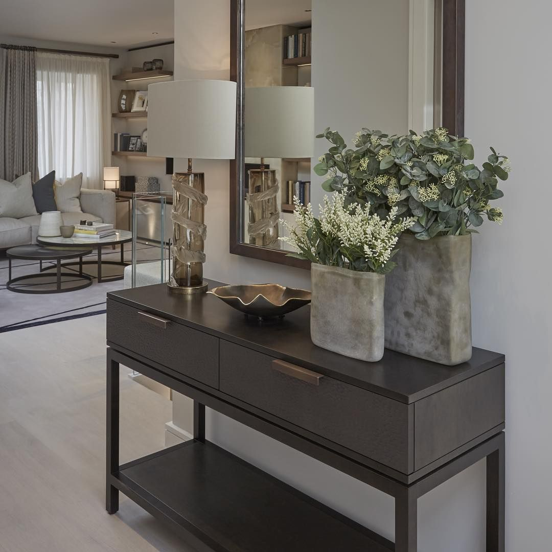 """Hallway Entrance Ideas: """"Entrance Hall At Our Notting Hill Project #interiordesign"""