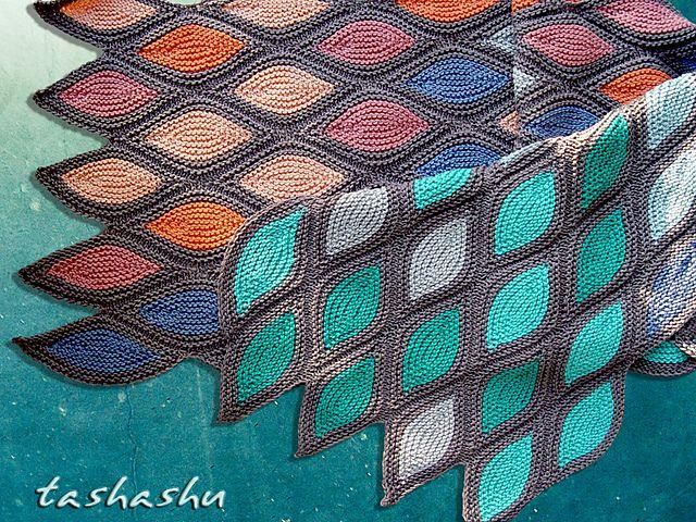 Knitted Scarf Venice pattern by Svetlana Gordon | Pinterest | Tejido ...