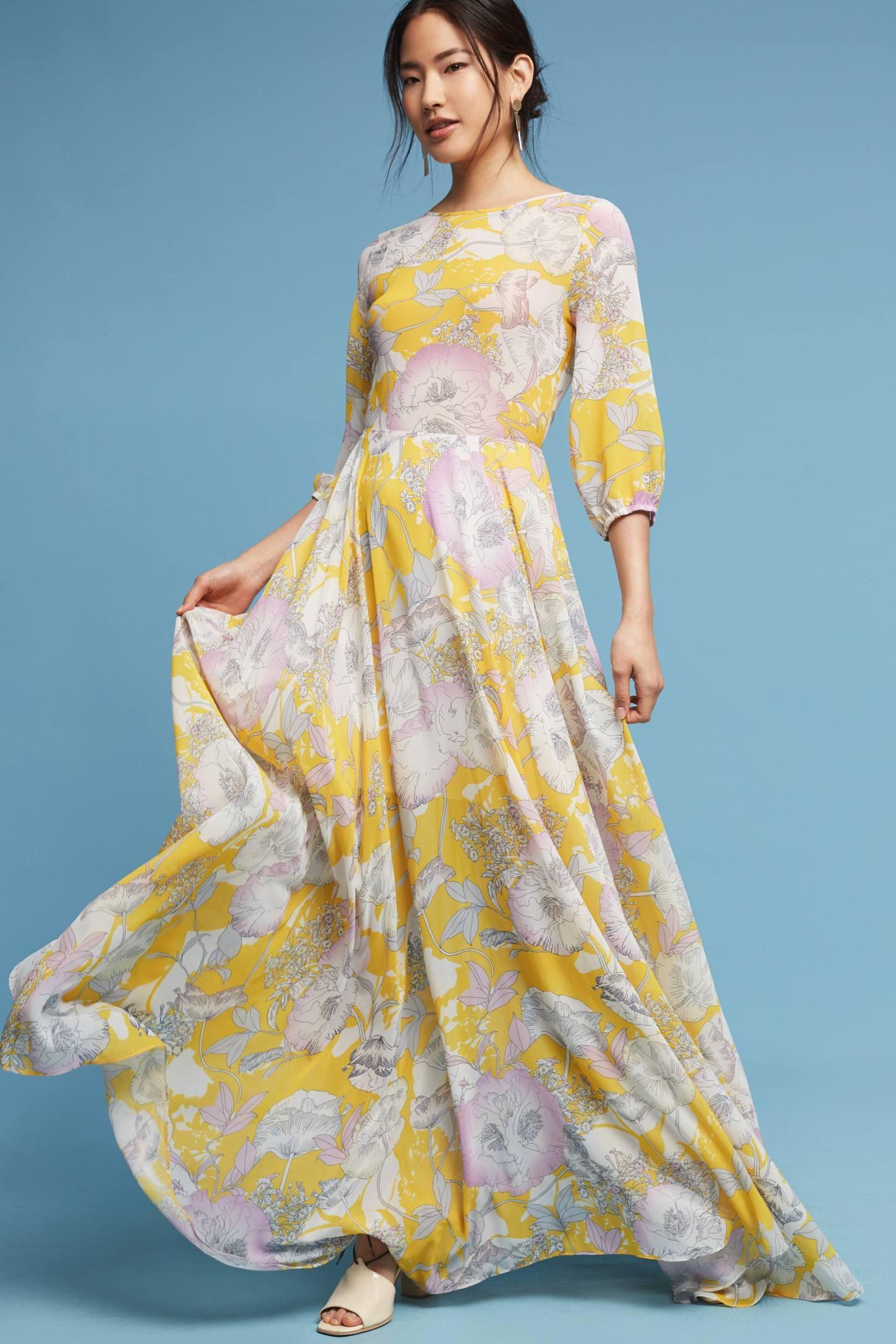 Charvi Floral Maxi Dress | Floral maxi dress, Floral maxi and Maxi ...