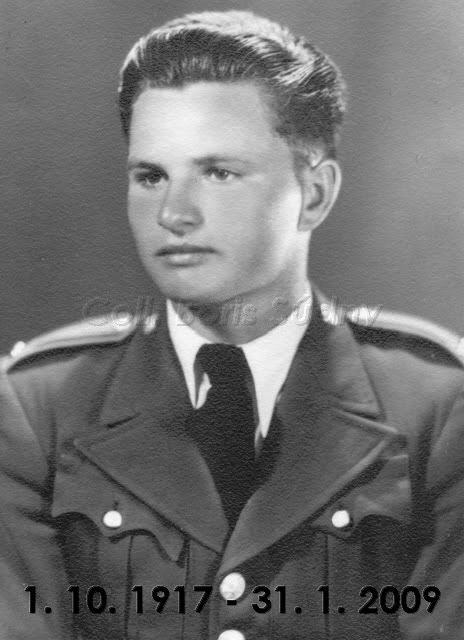 Lieutenant František 'Fero' Cyprich1 October 1917 – 31 January 2009. He was evacuated to the Soviet Union after the fall of the Uprising and became a member of the Czechoslovak Army in the USSR. He served as an instructor and at the end of the war he was commissioned to Lieutenant. Cyprich's ended the Second World War with 1 biplane victory and a total of 15 victories (and 3 unconfirmed).