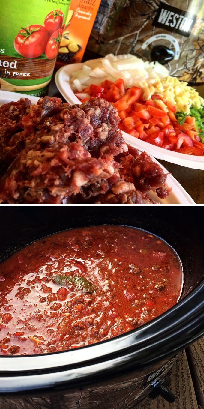Best Wild Game Chili Wild Game Cuisine Antelope Recipes Antelope Chili Recipe Venison Recipes