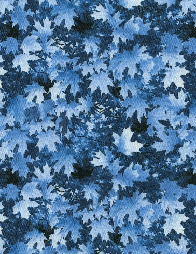 Winter Reflections Snowfall Quilt Fabric Winter Snow Scene Premium Cotton  #TimelessTreasuresFabric