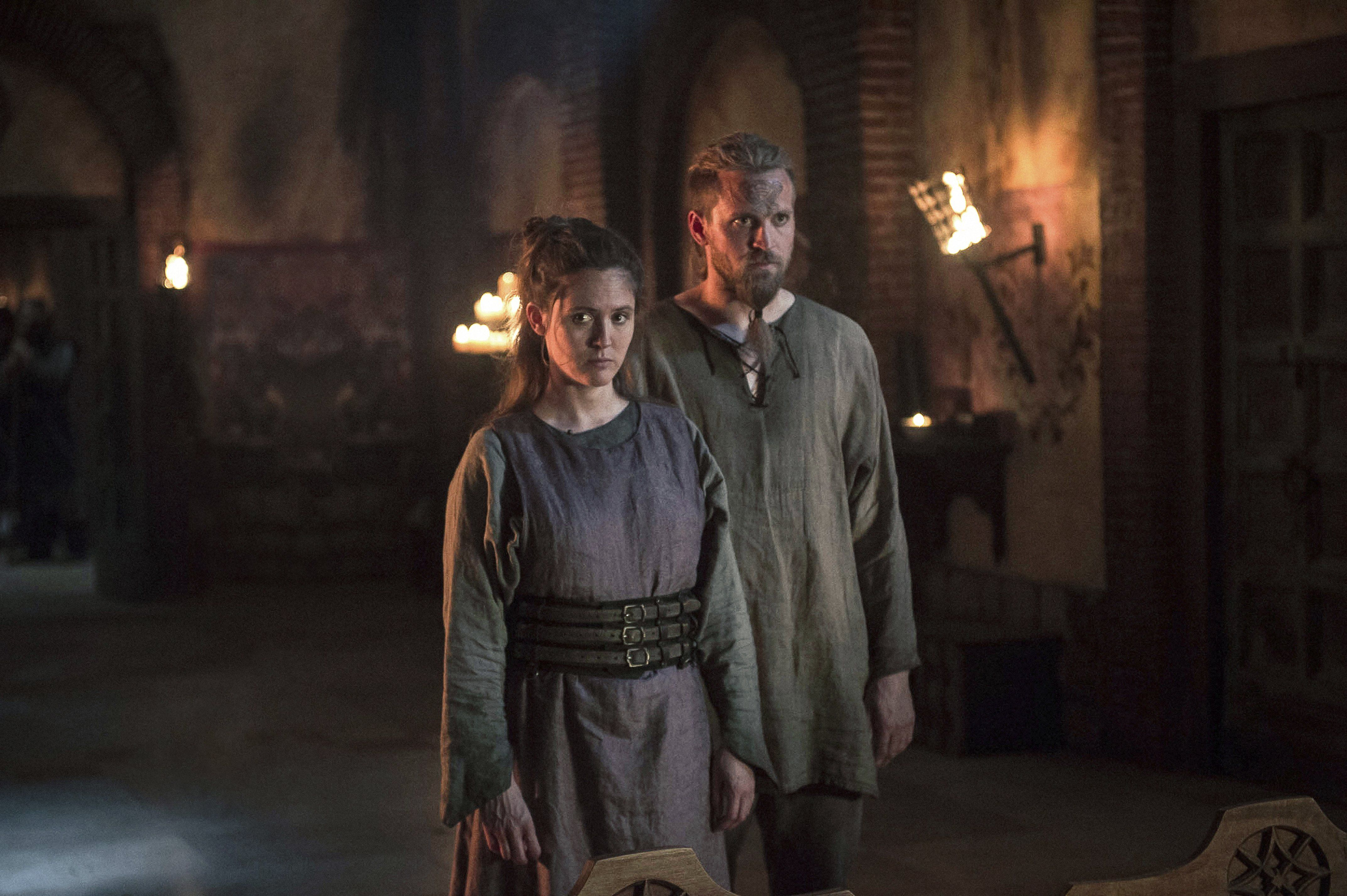 The Last Kingdom Brida And Ragnar The Younger With Images