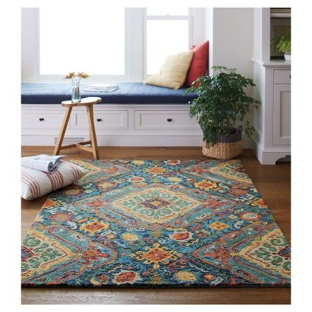 Valencia Area Rug Threshold Area Rugs Rugs Rustic Home Design