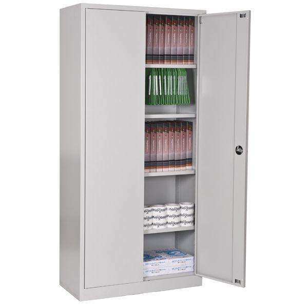 armoire métallique à portes battantes,monobloc,h180xl80xp38cm
