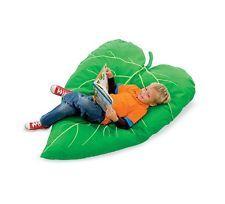 Hearthsong Leaf Cushion