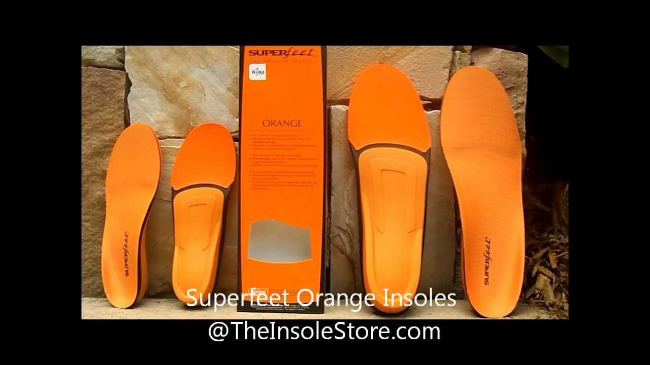 Superfeet Orange Insoles
