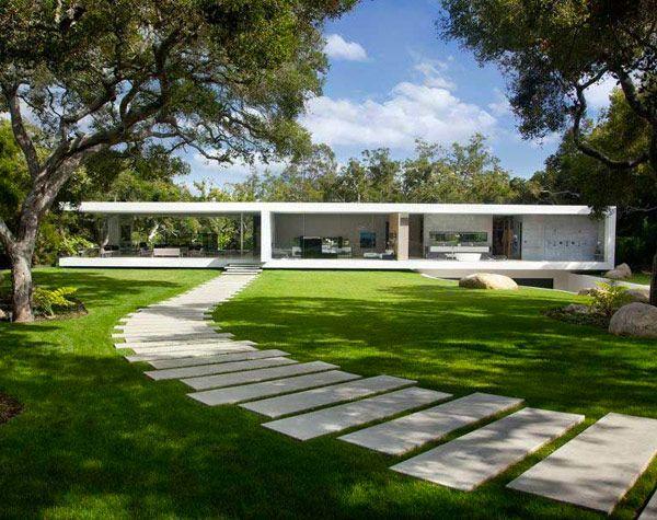 The Glass Pavilion House Glass Pavilion Architecture House
