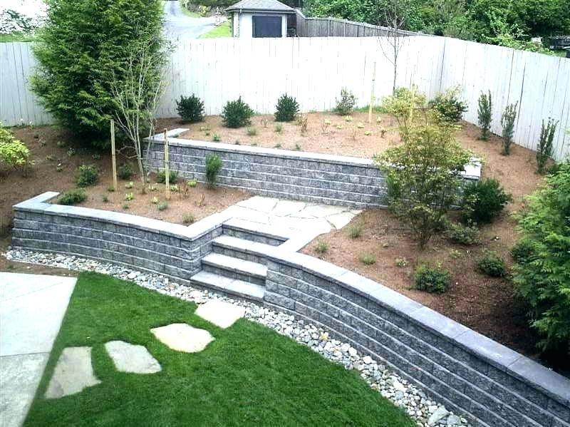 Small Retaining Wall Ideas Build Garden Retaining Wall Cinder Block Wall Ideas Concrete Re Landscaping Retaining Walls Cinder Block Garden Wall Sloped Backyard