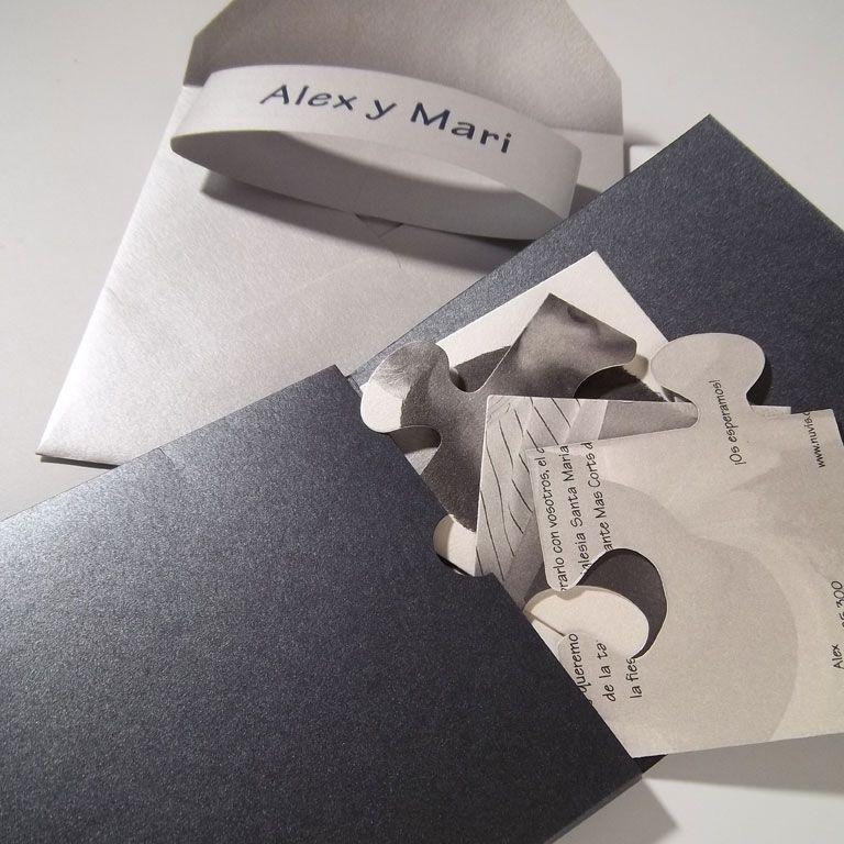 Invitación De Boda Original Invitació De Casament Diferent